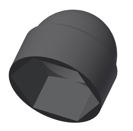 schutzkappe abdeckkappe schraube hutmutter m4 m5 m6 m8 m10 m12 m24 m30 ebay. Black Bedroom Furniture Sets. Home Design Ideas