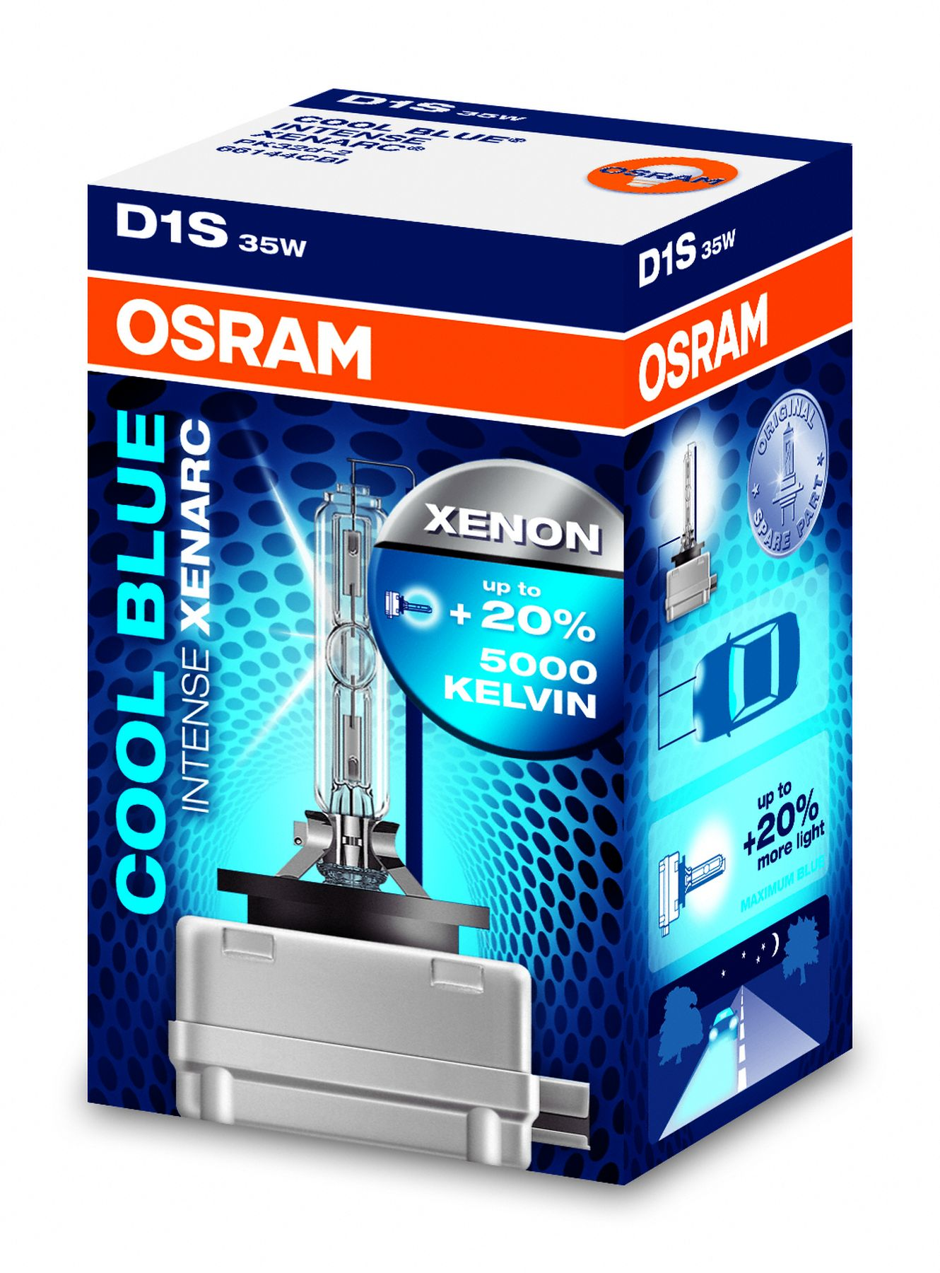 osram d1s xenarc cool blue intense xenon scheinwerferlampe 66144cbi ebay. Black Bedroom Furniture Sets. Home Design Ideas