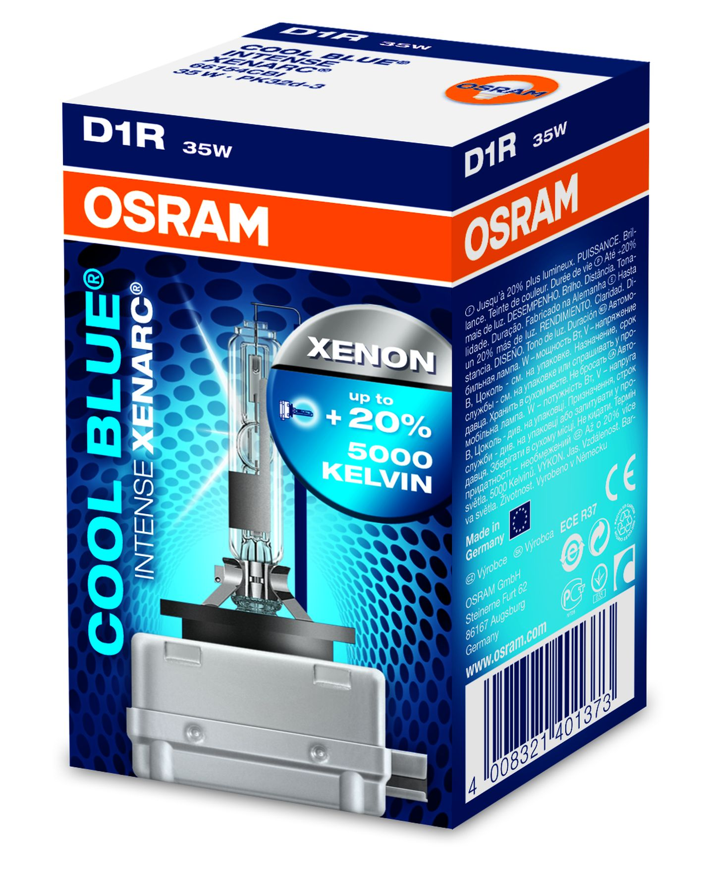 d1r original osram xenarc cool blue intense 5500 kelvin xenon brenner 66154cbi ebay. Black Bedroom Furniture Sets. Home Design Ideas