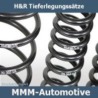 H&R Federn ABE 25/40mm 28977-1 VW Polo 6R ab 06.09 Tieferlegung Sportfedern
