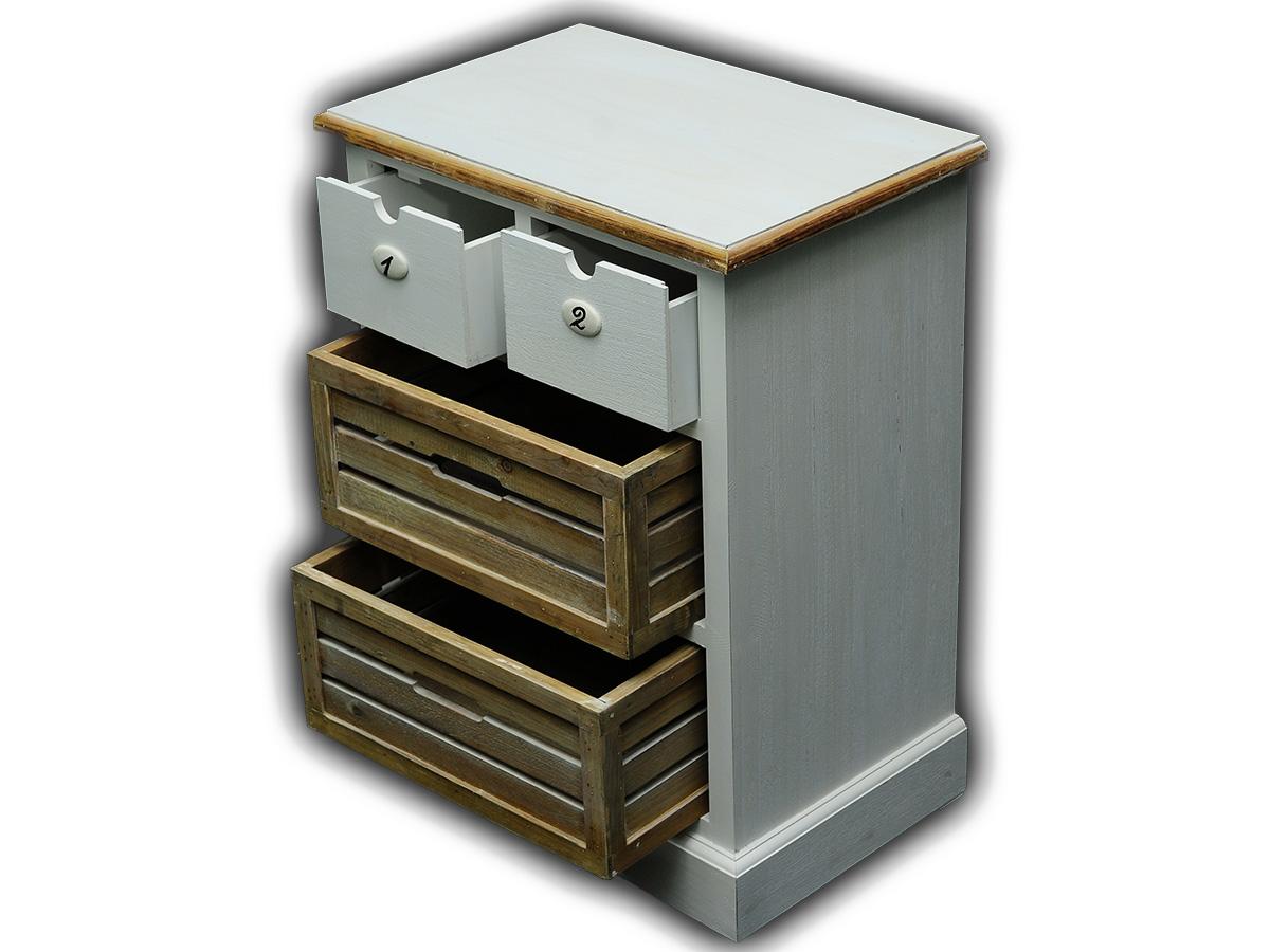 kommode nachtkommode sideboard schrank antik wei massiv. Black Bedroom Furniture Sets. Home Design Ideas