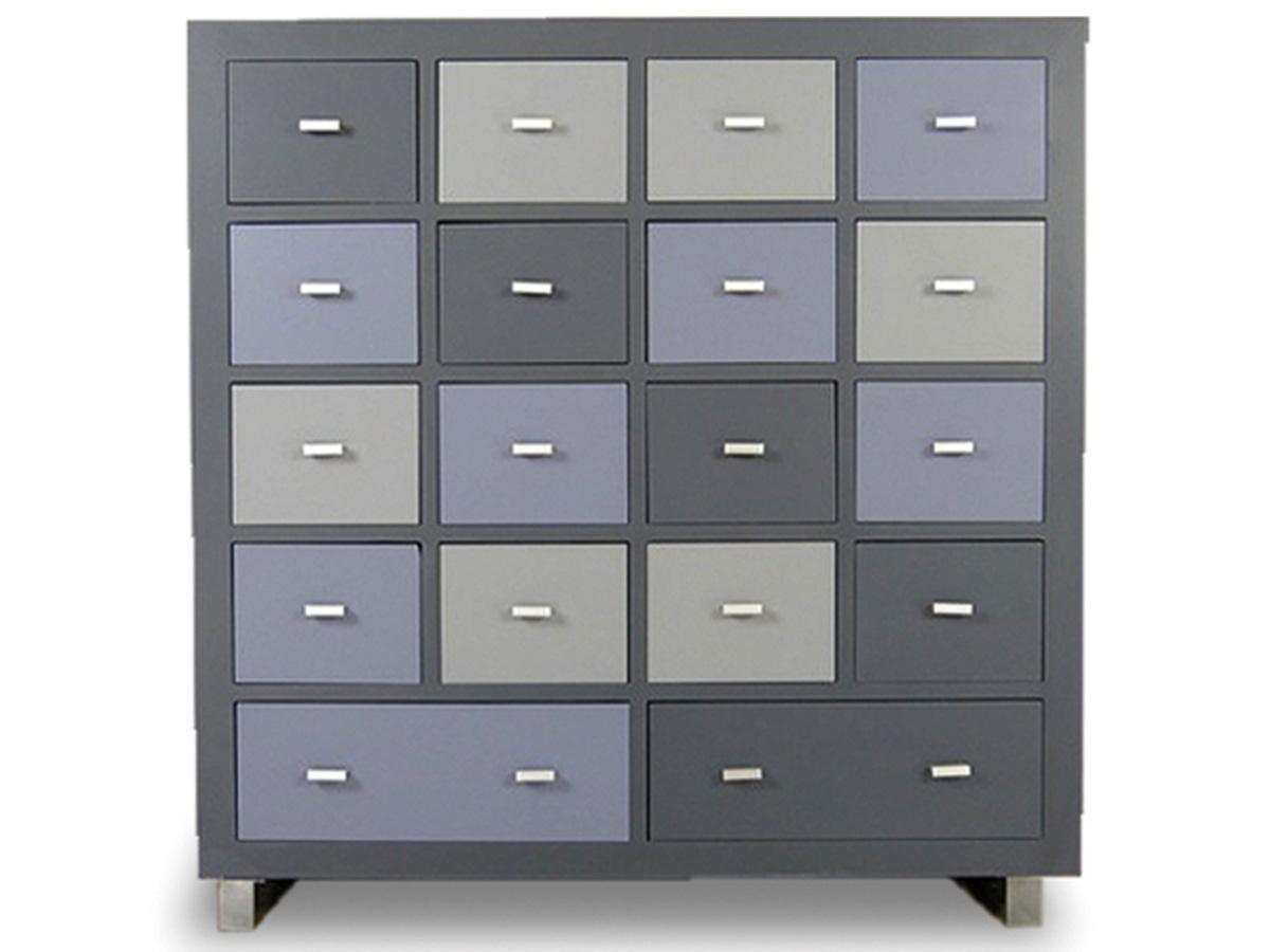 hochkommode kommde sideboard schrank anrichte landhaus holz bunt kolibri ebay. Black Bedroom Furniture Sets. Home Design Ideas