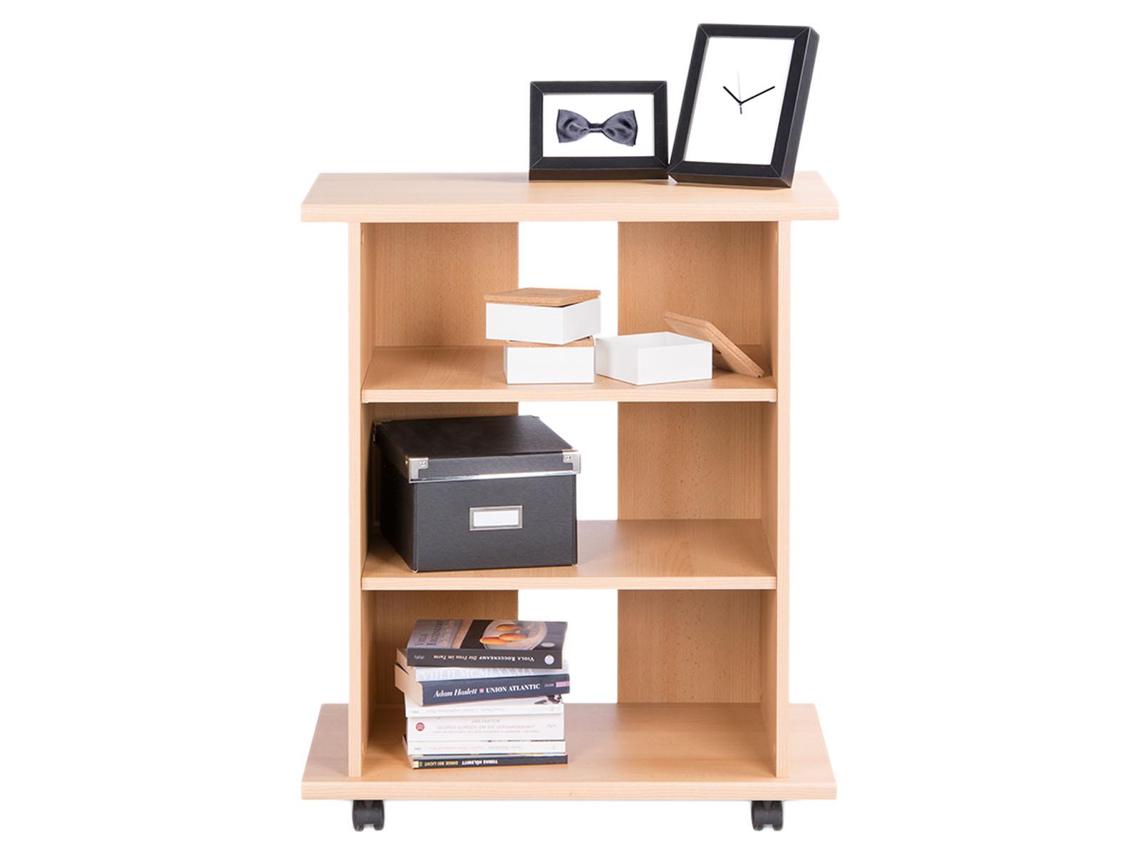 tv wagen tisch fernsehtisch m bel schrank hifi auf rollen couchtisch arnold ii ebay. Black Bedroom Furniture Sets. Home Design Ideas