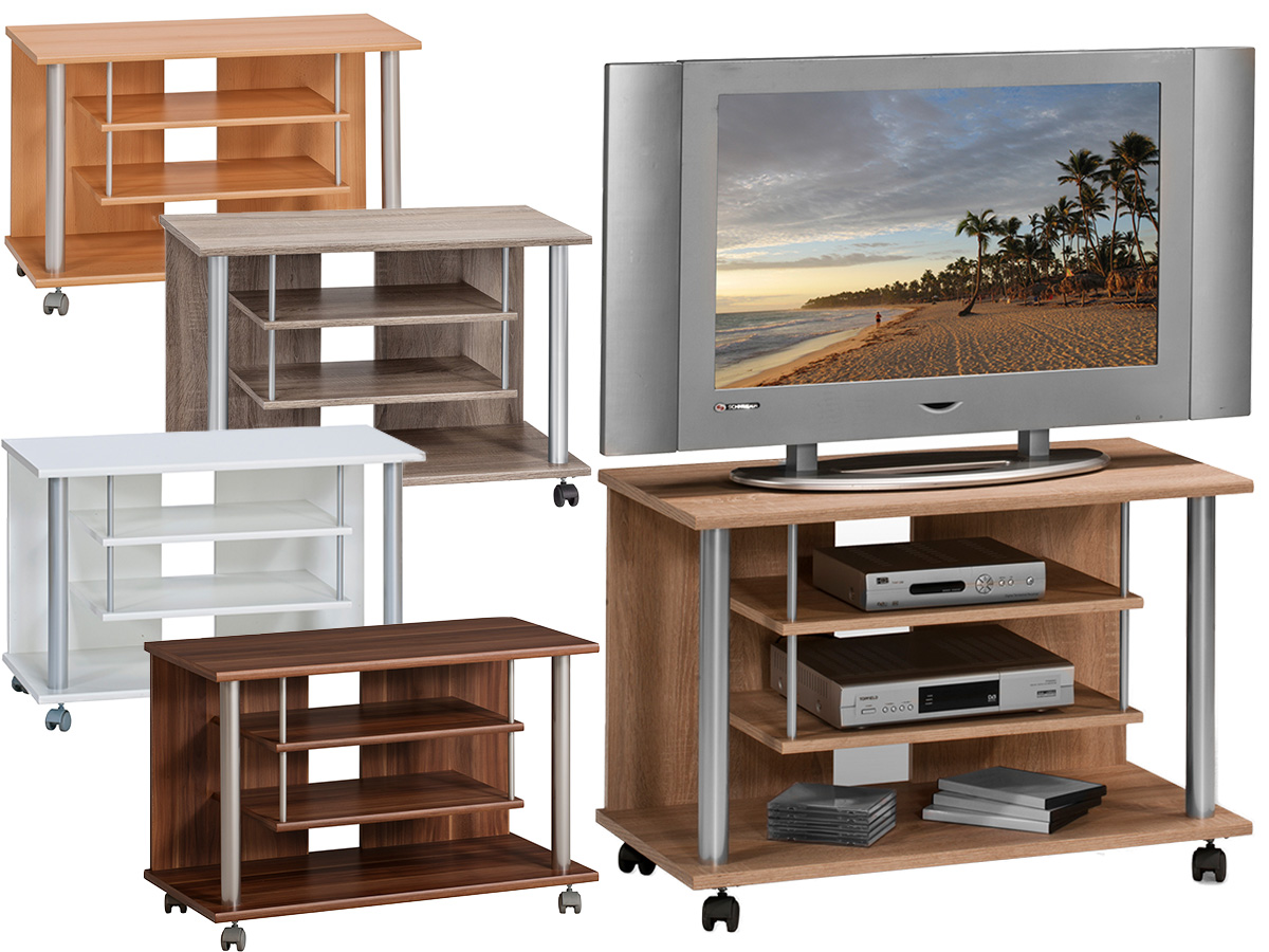 tv wagen tv bank fernsehwagen tv schrank videowagen tv wagen m bealdno jeter ebay. Black Bedroom Furniture Sets. Home Design Ideas