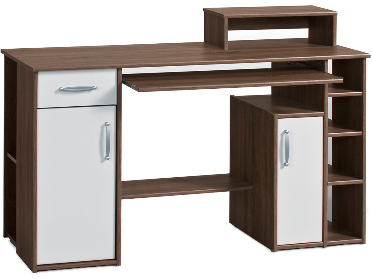 schreibtisch computertisch tisch workstation pc tisch freie farbwahl joel ebay. Black Bedroom Furniture Sets. Home Design Ideas