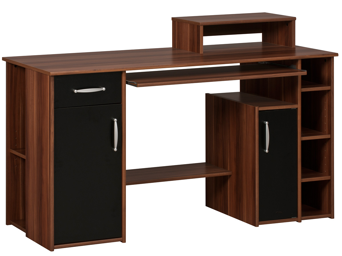 computertisch schreibtisch b rozubeh r. Black Bedroom Furniture Sets. Home Design Ideas
