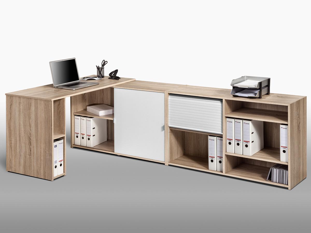 schreibtischkombination b rokombination schreibtisch mini b ro office lutz. Black Bedroom Furniture Sets. Home Design Ideas