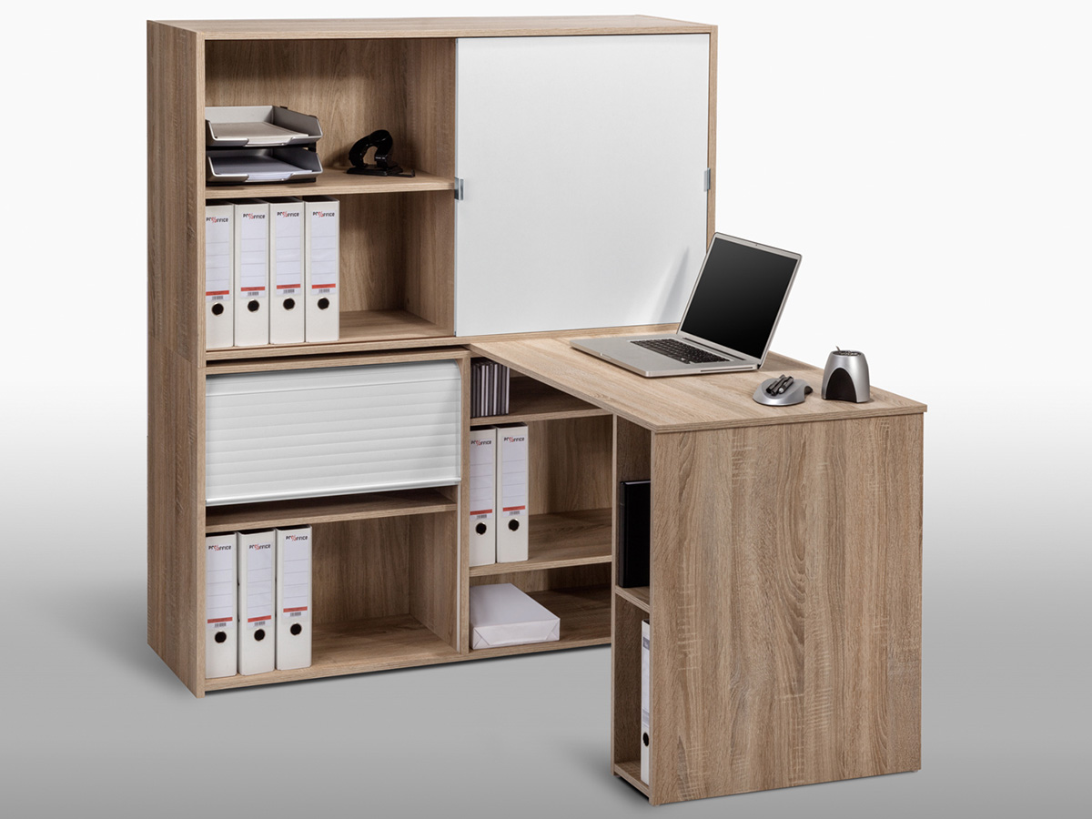 schreibtischkombination b rokombination schreibtisch mini b ro office lutz. Black Bedroom Furniture Sets. Home Design Ideas