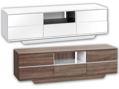 Tv bank design  TV Bank TV Schrank TV Möbel Phonowagen Lowboard Mediamöbel Design ...