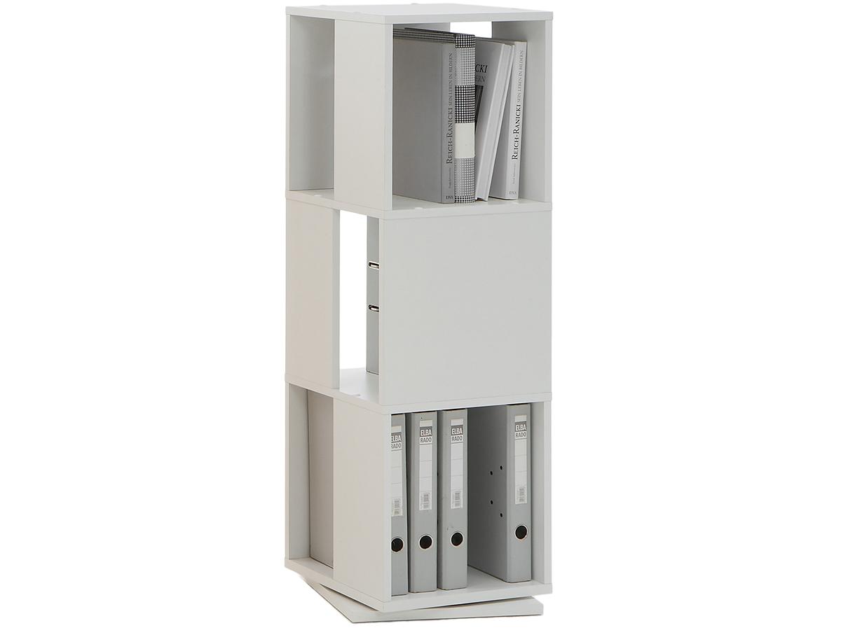 details zu b ro ordner regal drehregal tower buche. Black Bedroom Furniture Sets. Home Design Ideas