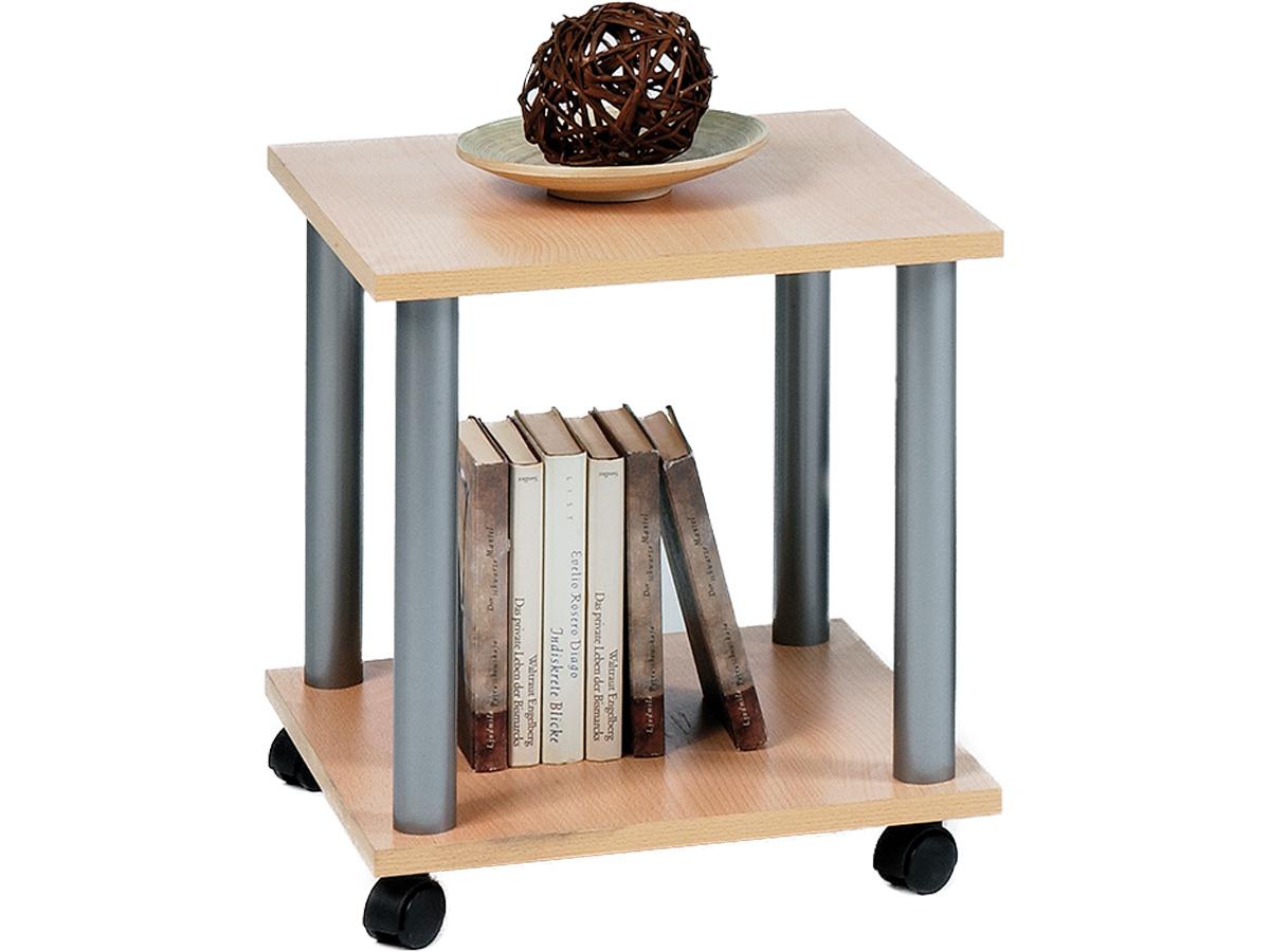 beistelltisch beistellwagen wagen tisch auf rollen. Black Bedroom Furniture Sets. Home Design Ideas