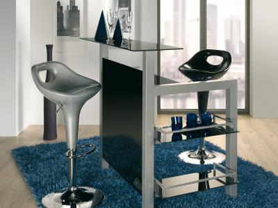 design bartheke minibar bar theke tressen bartisch hausbar sicherheitsglas dong ebay. Black Bedroom Furniture Sets. Home Design Ideas