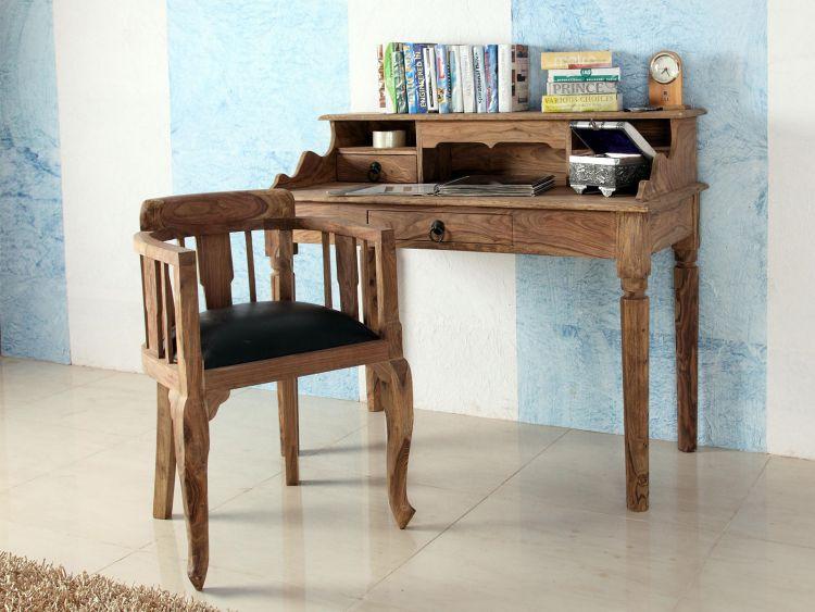 sekret r aus massivholz schreibtisch tisch kommode. Black Bedroom Furniture Sets. Home Design Ideas