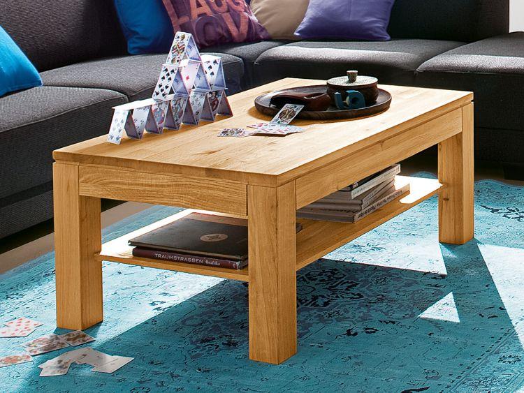 Couchtisch Massivholz Tisch Wohnzimmertisch Sofatisch