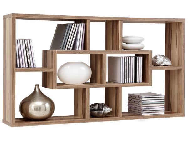 wandregal wandboard h ngeregal regal steckboard b cherregal melaminharz lora ebay. Black Bedroom Furniture Sets. Home Design Ideas
