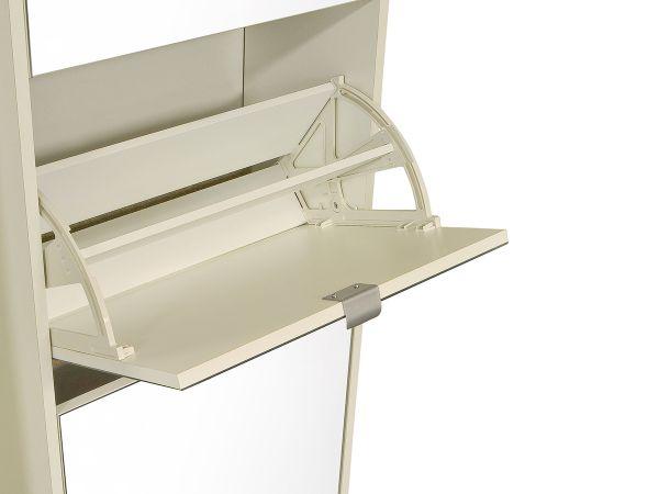 Schuhkipper schuhschrank spiegelschuhschrank flurschrank for Schuhkipper spiegelfront