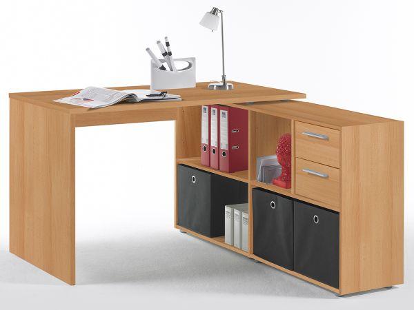 eckschreibtisch schreibtisch winkelschreibtisch arbeitstisch tisch yihabo i ebay. Black Bedroom Furniture Sets. Home Design Ideas