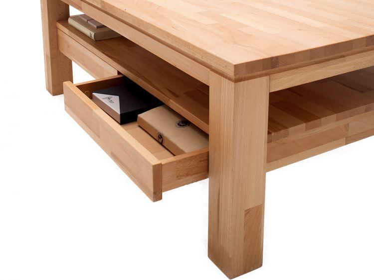couchtisch aus massivholz sofatisch wohnzimmertisch holtisch tisch gordon ebay. Black Bedroom Furniture Sets. Home Design Ideas