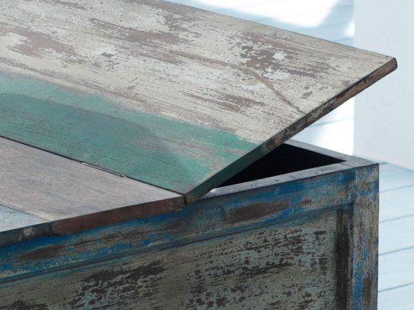 Truhe Wohnzimmertisch Holztruhe Couchtisch Sofatisch