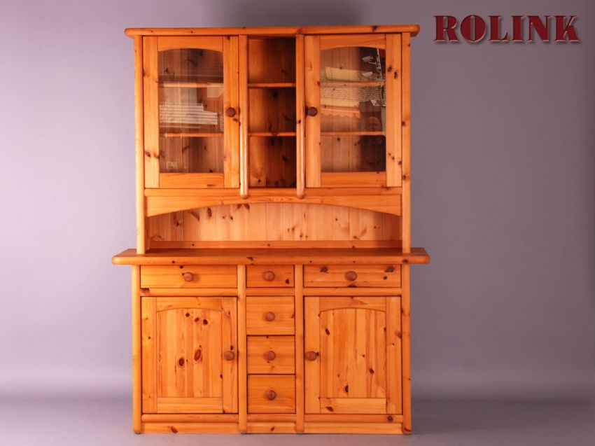 buffet buffetschrank k chen schrank weichholz landhaus. Black Bedroom Furniture Sets. Home Design Ideas