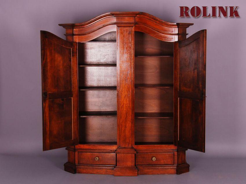 antik stil m bel dielen w sche kleider wohnzimmer schrank nussbaum altdeutsch. Black Bedroom Furniture Sets. Home Design Ideas