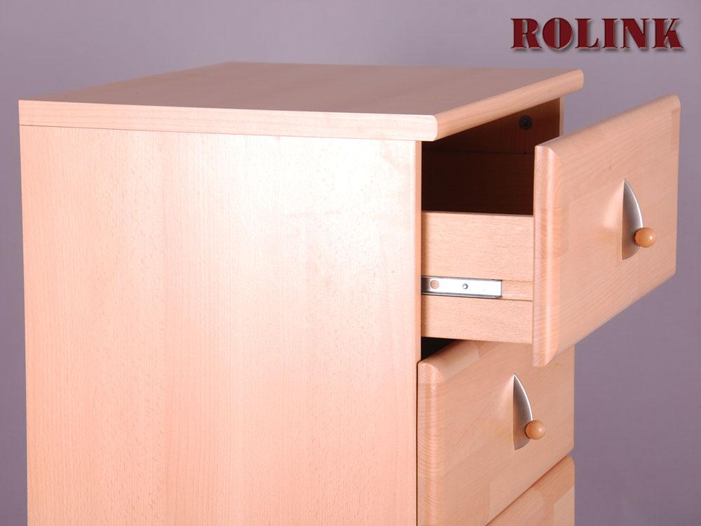 kommode buche m 6 schubladen schrank flur m bel ebay. Black Bedroom Furniture Sets. Home Design Ideas
