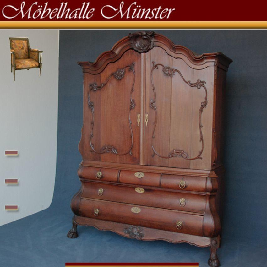 barock schrank kommoden aufsatzschrank kabinettschrank um 1750 ebay. Black Bedroom Furniture Sets. Home Design Ideas