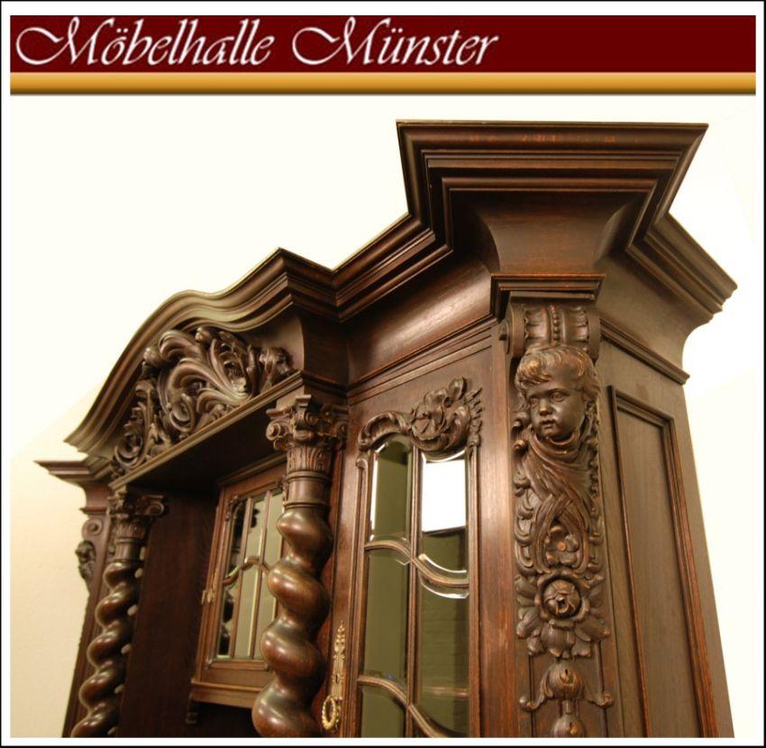 barockesszimmer um 1900 buffetschrank tisch st hle. Black Bedroom Furniture Sets. Home Design Ideas