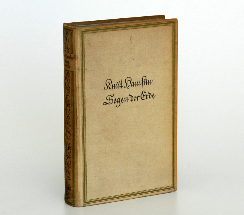 Segen der Erde / Knut Hamsun. Copyright 1918