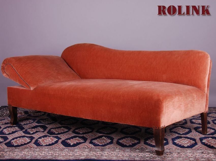 Ottomane wohnzimmer sofa liegesofa couch recamiere for Sofa restposten