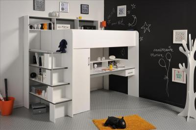 multifunktions hochbett between mit schrank gro em. Black Bedroom Furniture Sets. Home Design Ideas