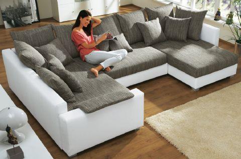 Wohnlandschaft-Eck-Couch-Sofa-mit-Federkern-Polsterung-und-16-Kissen-Pesaro