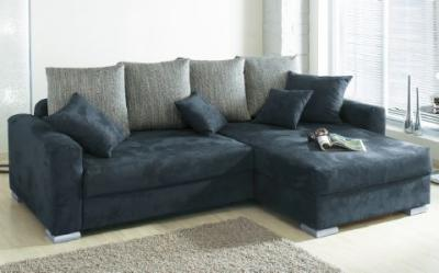 polsterecke eck couch sofa microfaser mit federkern. Black Bedroom Furniture Sets. Home Design Ideas