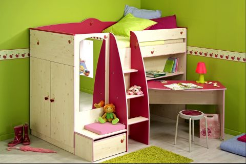 multifunktions hochbett my blog. Black Bedroom Furniture Sets. Home Design Ideas
