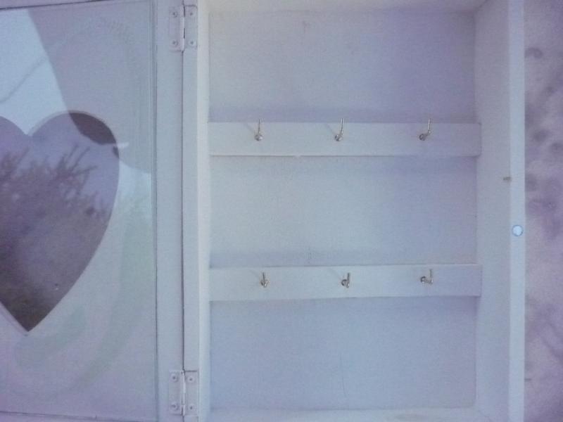 schl sselkasten herz schl sselschrank vintage. Black Bedroom Furniture Sets. Home Design Ideas