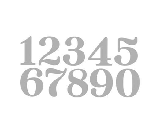 rayher stanzschablone big numbers ca 3cm 10 st ck ebay. Black Bedroom Furniture Sets. Home Design Ideas
