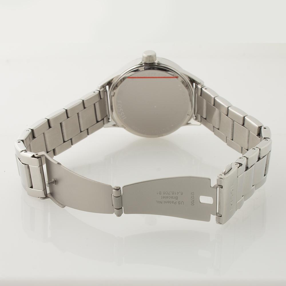 fossil damen armband uhr bq1105 edelstahl zirkonia datum uvp 119 euro. Black Bedroom Furniture Sets. Home Design Ideas