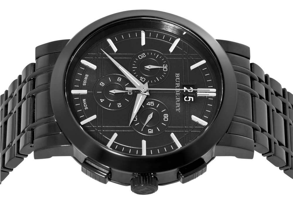 burberry uhr bu1385 herren armbanduhr chronograph uvp 599 00 euro ebay. Black Bedroom Furniture Sets. Home Design Ideas