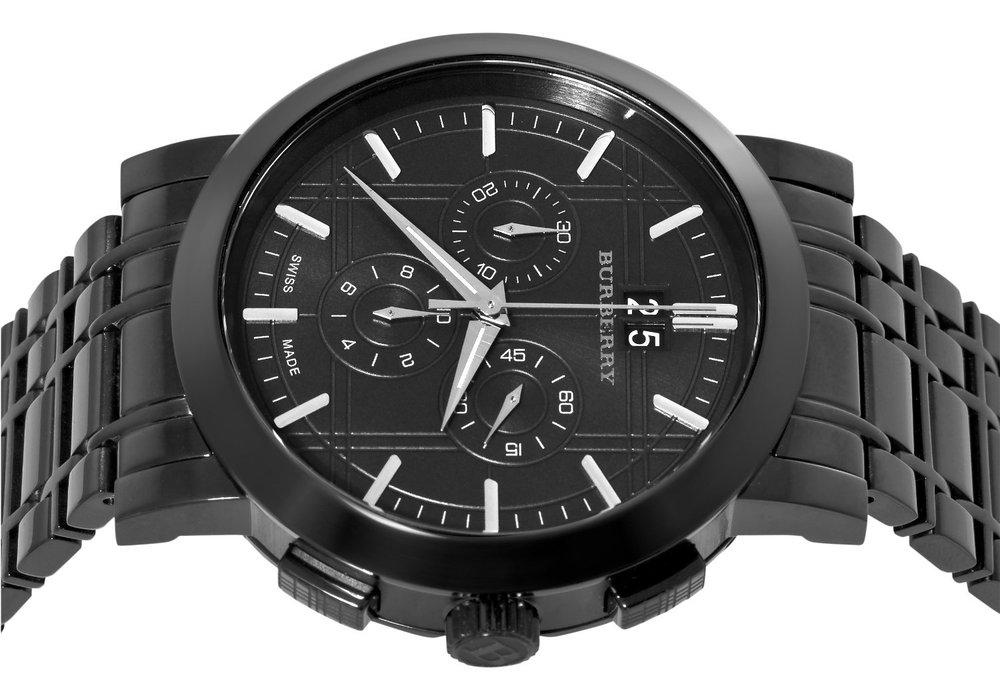 burberry bu1385 herren uhr chronograph uvp 599 00 ebay