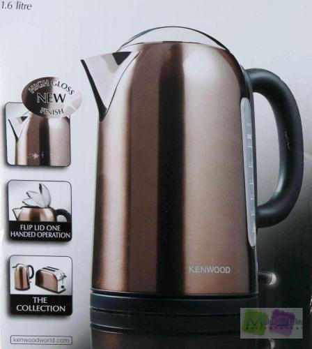 kenwood sjm 107 wasserkocher metallics serie 3 kw 1 6 liter goldbraun ebay. Black Bedroom Furniture Sets. Home Design Ideas