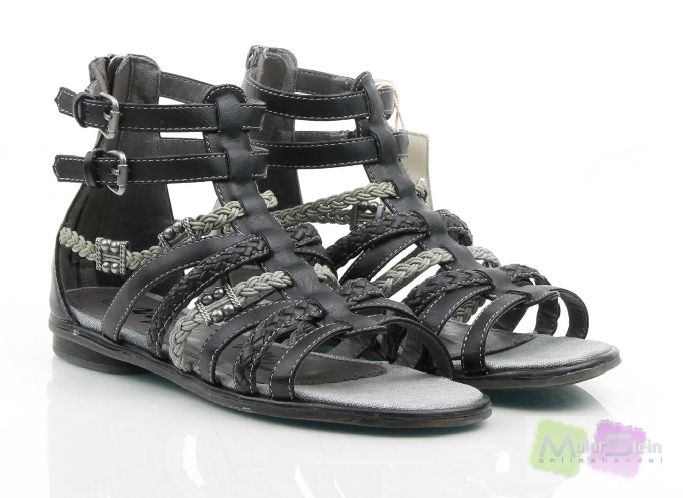 tom tailor kids shoe m dchen sandalen schwarz black eu 37 ebay. Black Bedroom Furniture Sets. Home Design Ideas