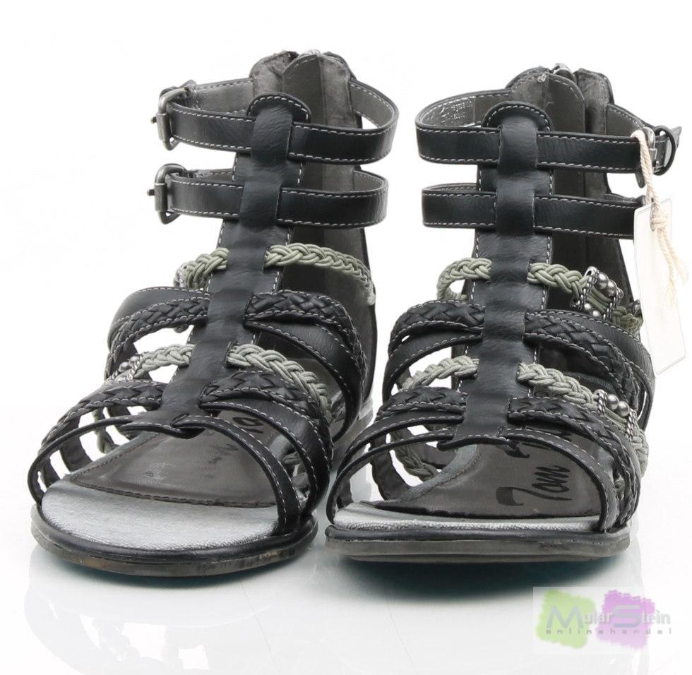 tom tailor kids shoe m dchen sandalen schwarz black eu. Black Bedroom Furniture Sets. Home Design Ideas