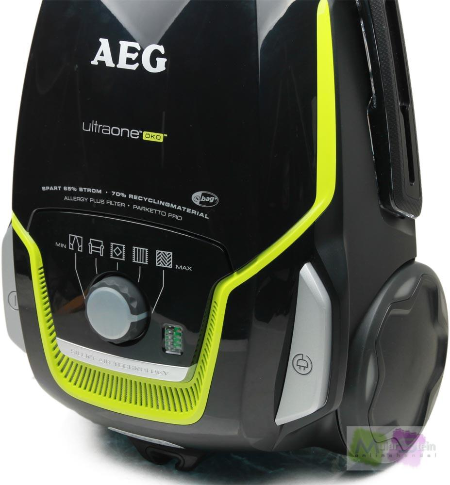 aeg ultraone ko uo green staubsauger mit beutel eek a 800 watt 5 l staubbeh l ebay. Black Bedroom Furniture Sets. Home Design Ideas