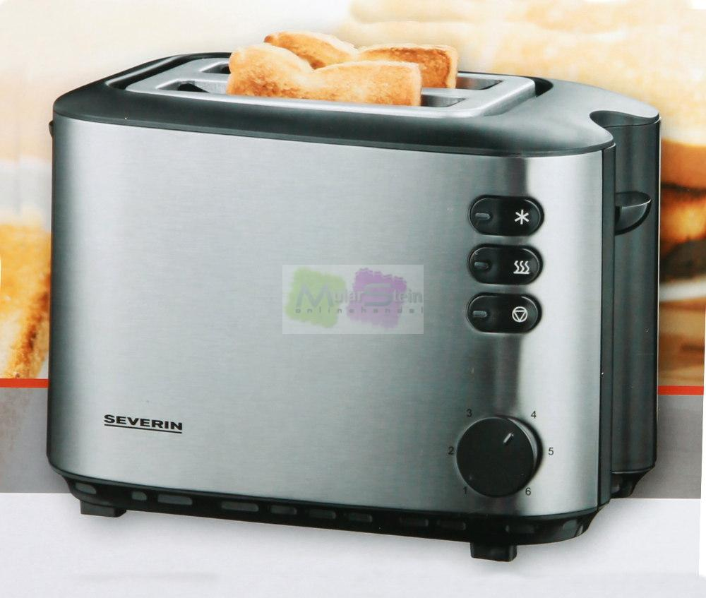severin automatik toaster 2 scheiben edelstahl at 2514 ebay. Black Bedroom Furniture Sets. Home Design Ideas
