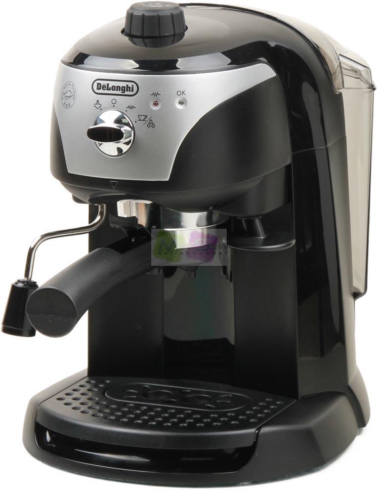 delonghi ec 220b espressomaschine 15 bar ese system siebtr ger 1100 watt ebay. Black Bedroom Furniture Sets. Home Design Ideas