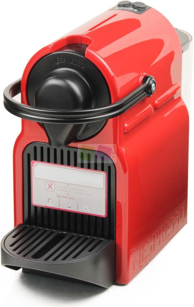 krups nespresso inissia xn 1005 ruby red kapselmaschine kaffeemaschine rot ebay. Black Bedroom Furniture Sets. Home Design Ideas