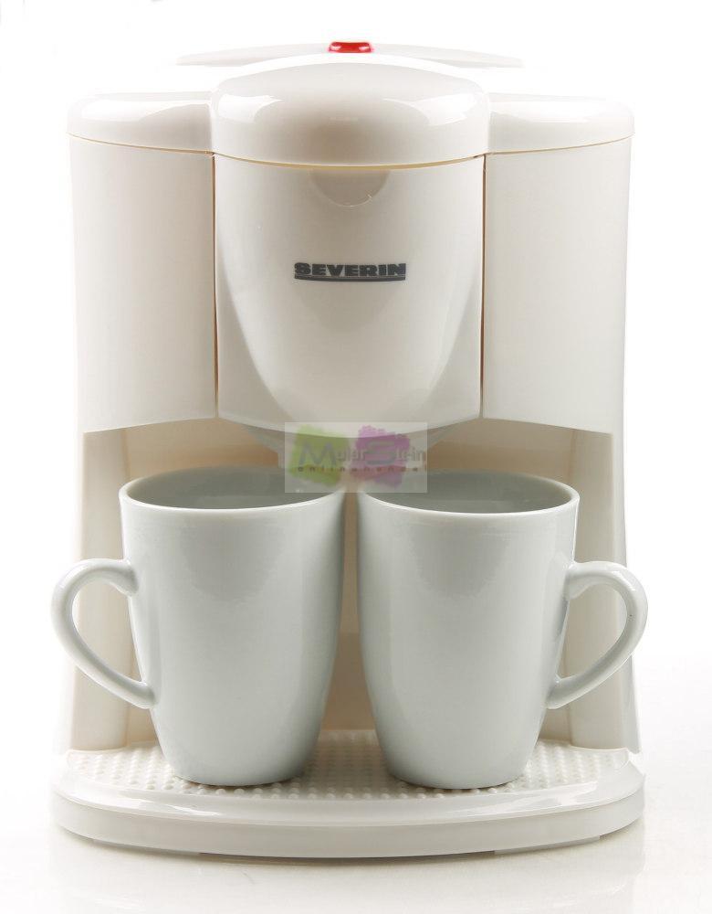 severin ka 9213 zwei tassen kaffeeautomat inkl 2 tassen kaffeemaschine ebay. Black Bedroom Furniture Sets. Home Design Ideas