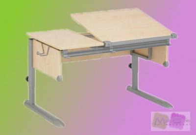 kettler 06603 273 kid 39 s comfort schreibtisch silber. Black Bedroom Furniture Sets. Home Design Ideas