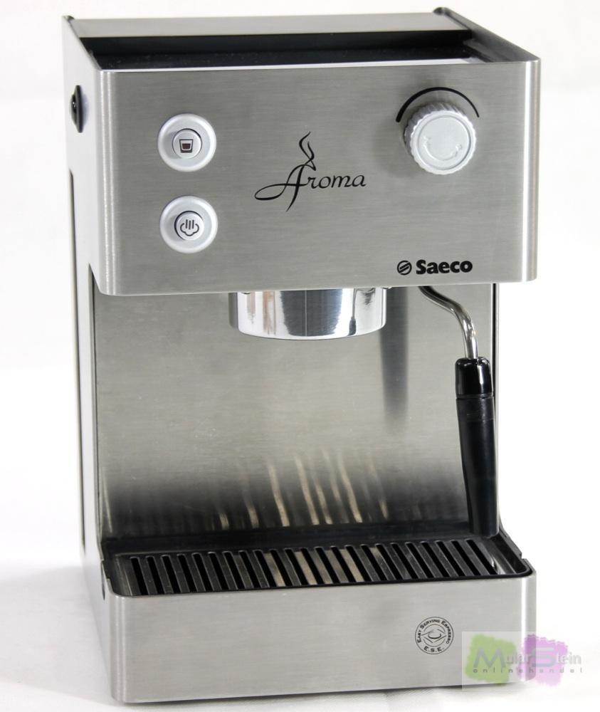 saeco ri9376 01 siebtr ger aroma edelstahl espressomaschine espresso kaffeemas ebay. Black Bedroom Furniture Sets. Home Design Ideas