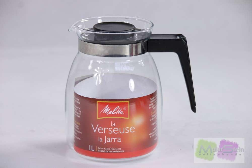 melitta karaffe teekanne kaffeekanne kanne glas 1 liter ebay. Black Bedroom Furniture Sets. Home Design Ideas